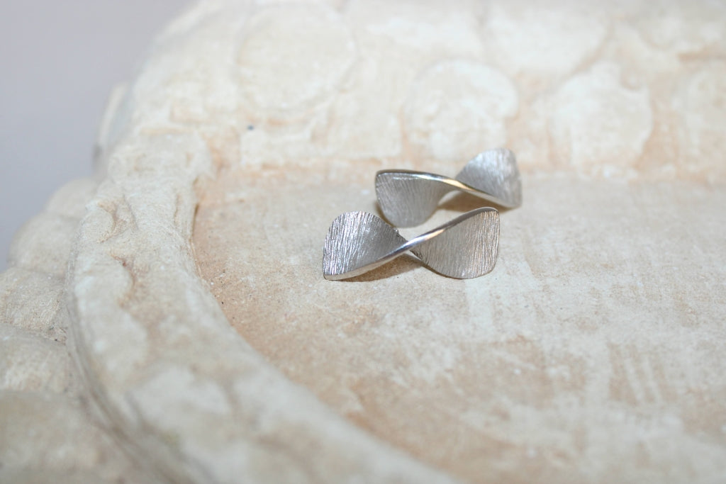 Smoky and Rosé Quartz Earrings