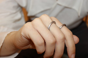 Reef Earrings in Forest Green and Gold