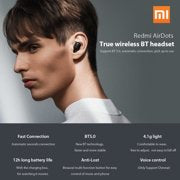 Xiaomi Redmi AirDots TWS wireless Earbuds bluetooth 5.0 Earphones 3D Stereo Sound Headphones with 300mAh Charging Box
