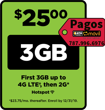 Simple Mobile Plan $25 Unlt