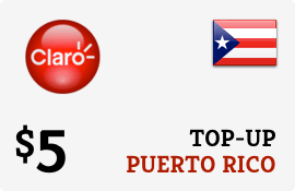Plan Claro Puerto Rico $5 Top-Up