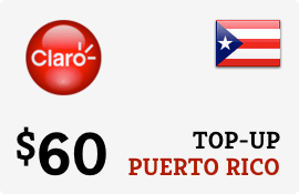 Plan Claro Puerto Rico $60 Top-Up