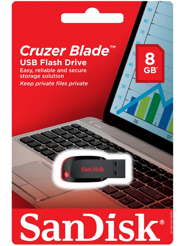 SANDISK USB Flash Drive 8GB - 911reparame