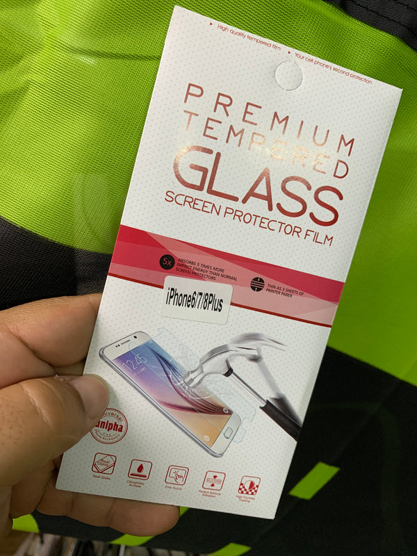 Tempered glass IPHONE 6/7/8 plus - 911reparame Celulares