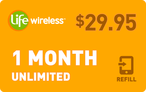 Plan Life Wireless $30