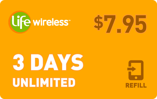 Plan Life Wireless $8