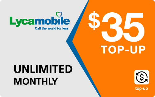 Plan LycaMobile 35
