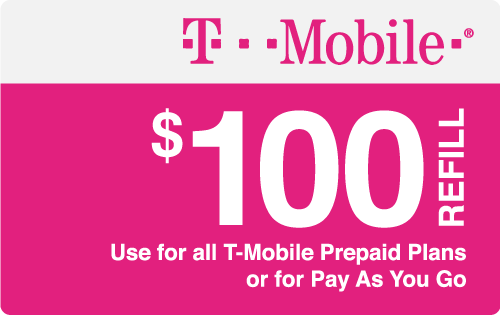 Plan T-Mobile $100 Top-Up