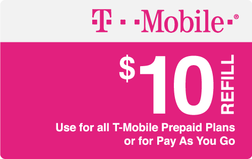 Plan T-Mobile $10 Top-Up