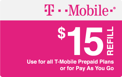 Plan T-Mobile $15 Top-Up