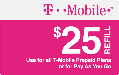 Plan T-Mobile $25 Top-Up