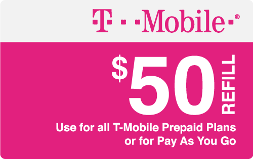 Plan T-Mobile $50 Top-Up