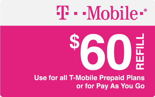 Plan T-Mobile $60 Top-Up