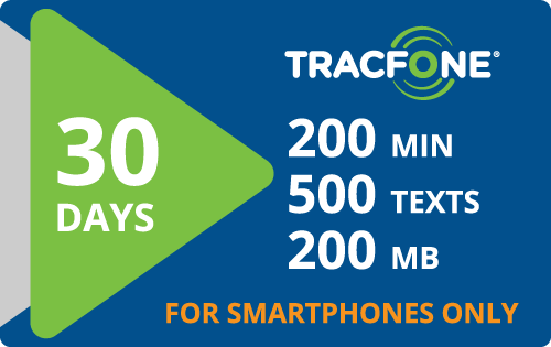 Plan Tracfone BYOP $15.00 30 Days