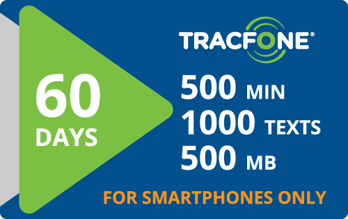 Plan Tracfone BYOP $25.00 60 Days