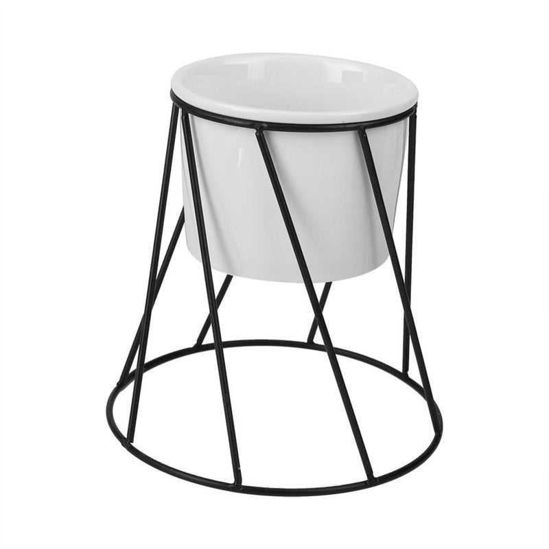 Twist Stand & Planter (Black)