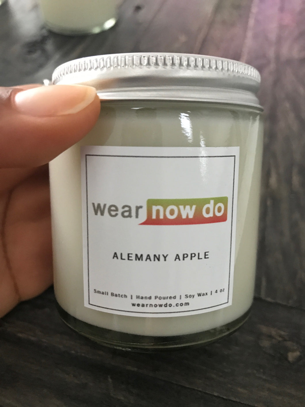 Alemany Apple 100% Soy Wax Candle