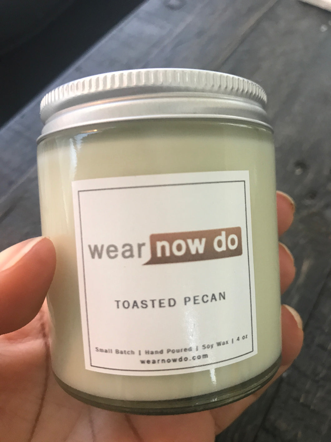 Toasted Pecan 100% Soy Wax Candle