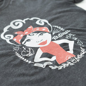 Rosie Resilience T-shirt detail