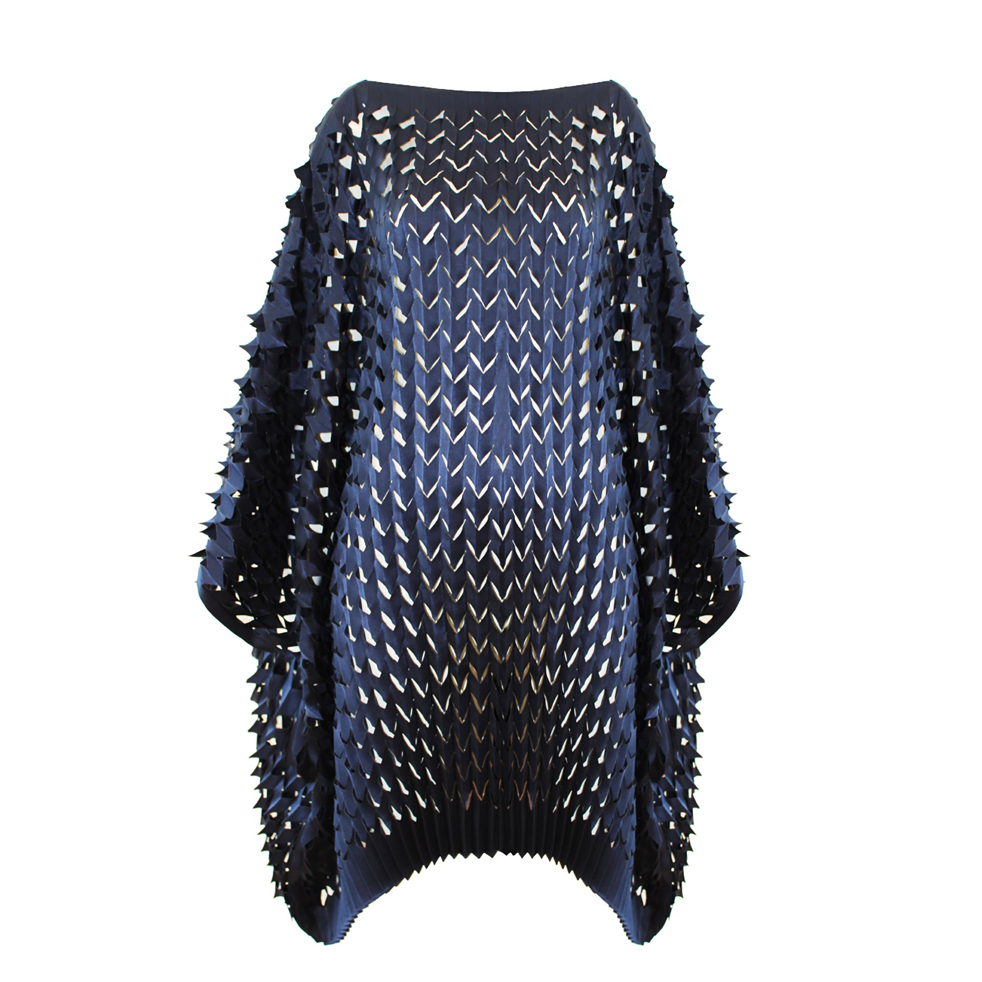 Pleated Laser Blouse