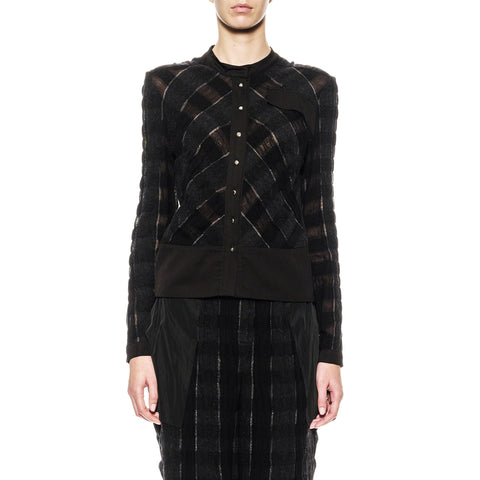 Long Sleeve Chess Blouse