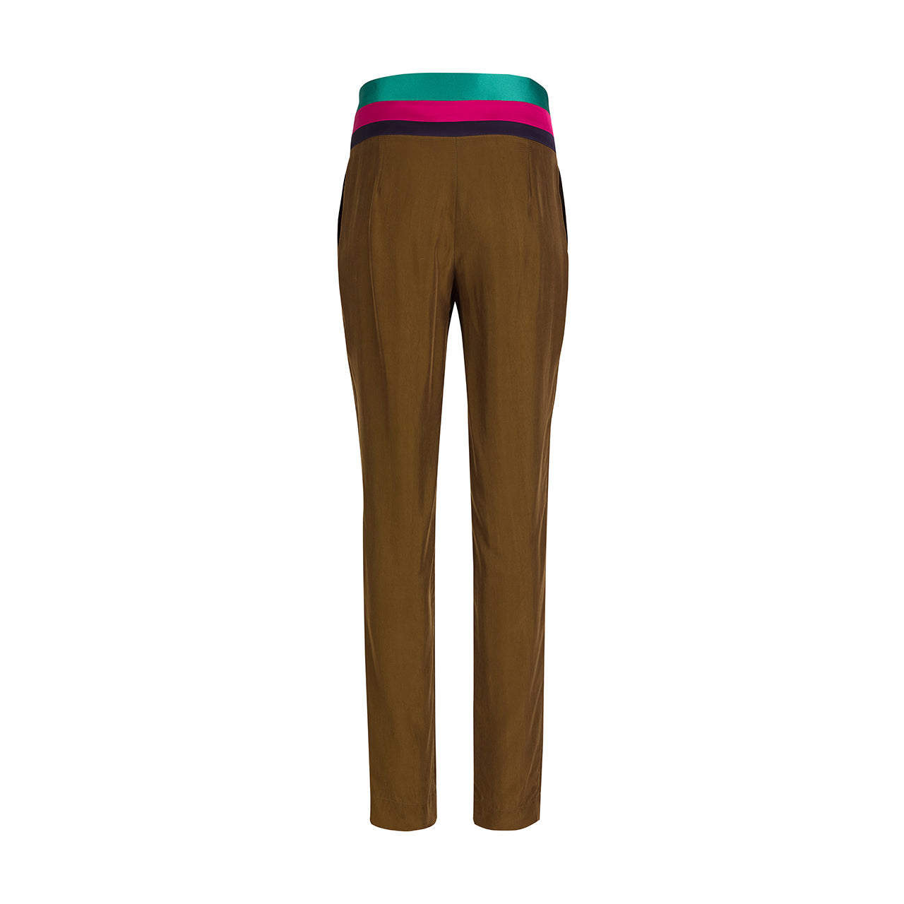 Colored Waistband Pants