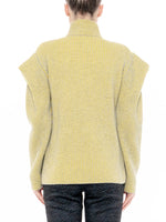 Load image into Gallery viewer, Pleated Shoulder Knit Jacket