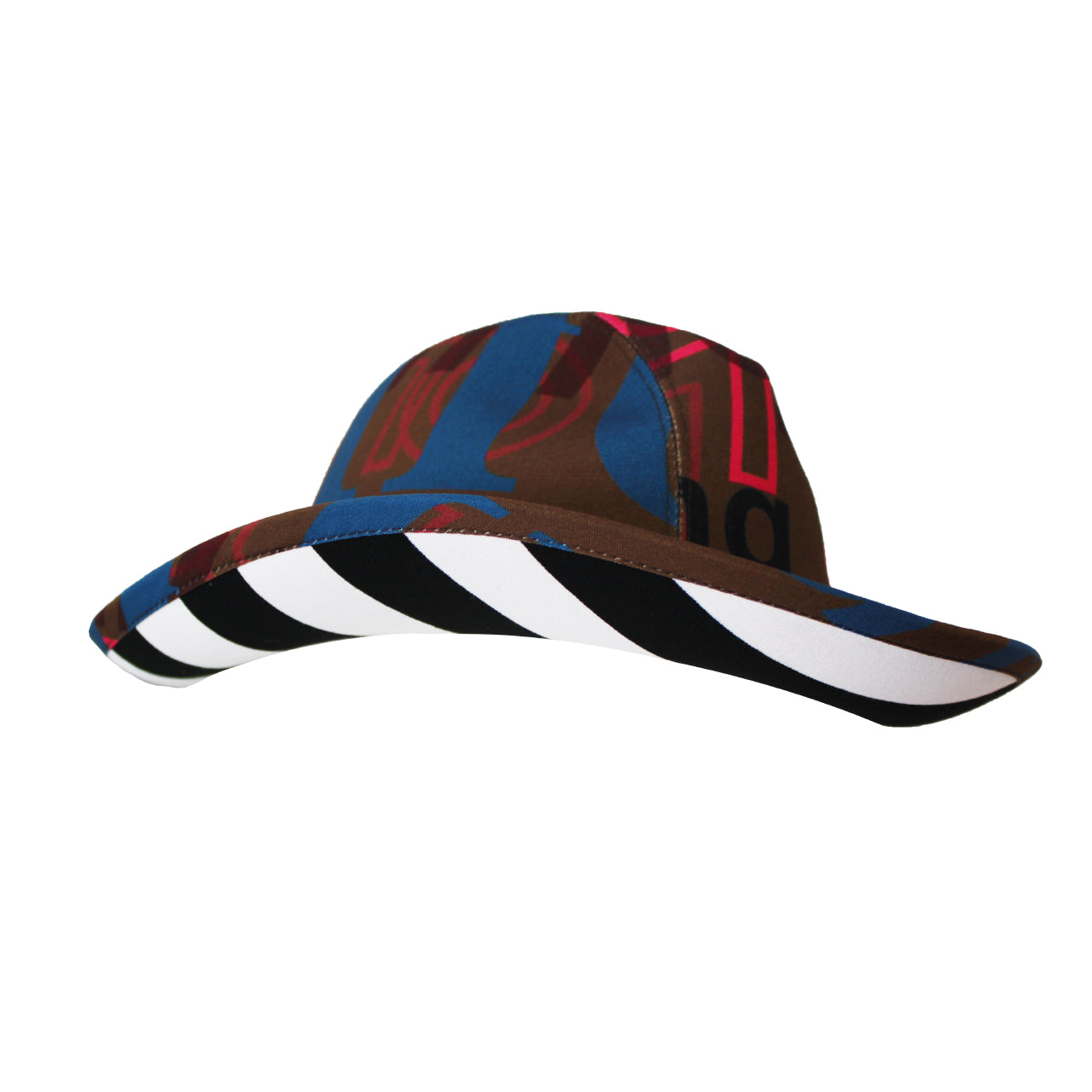 Multicolor Printed Hat