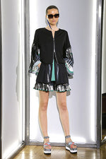 Load image into Gallery viewer, Zipped Kimono Jacket