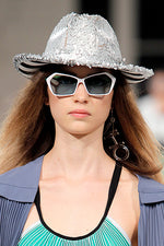 Load image into Gallery viewer, Silver Sequins Hat