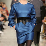 Load image into Gallery viewer, Frilled Sleeves Dress