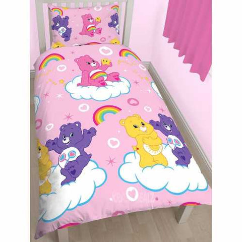 Duvet Cover Set – Pink Care Bears Design