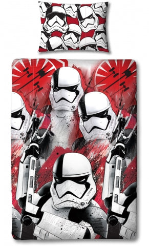 Image of Star Wars EP8 Trooper single duvet Reversible