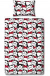 Star Wars EP8 Trooper single duvet Reversible