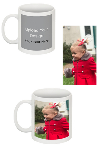 Image of Custom Image Coffee Mug