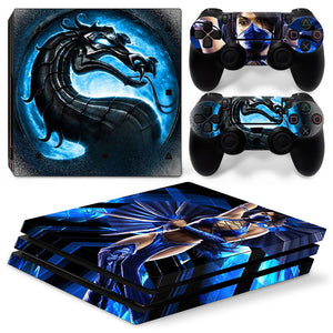 PS4 Pro skin - Mortal Kombat Kitana Design