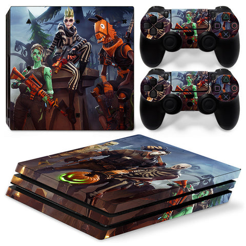PS4 Pro skin - Fortnite Mares Design