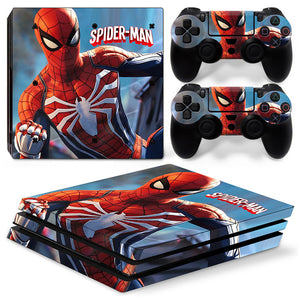 PS4 Pro skin - Spider-Man Design
