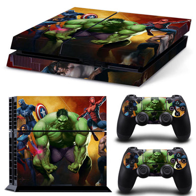 PS4 skin - Hulk Marvel Design