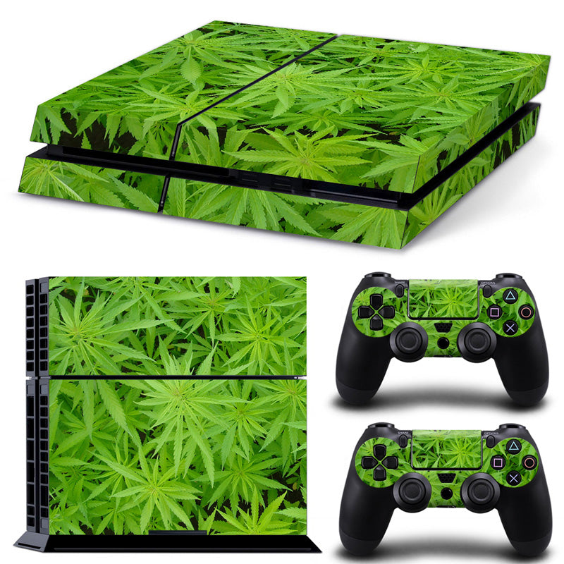 PS4 skin - Marijuana Design