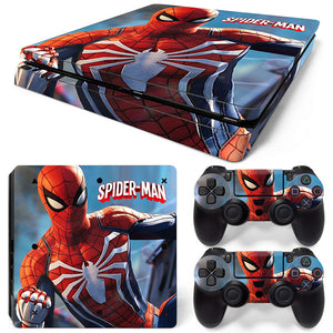 PS4 Slim Skin – Spider-Man Design