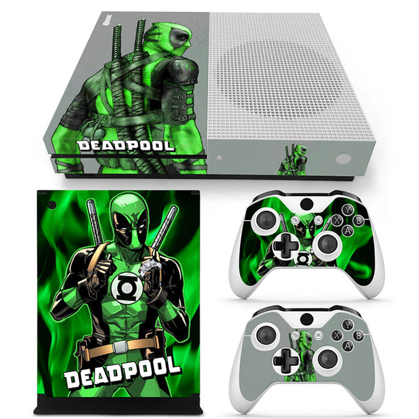 Xbox One S  Skin – Deadpool Design