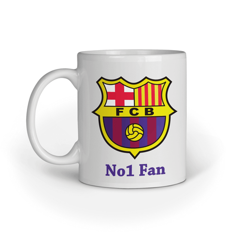 Personalised Football Mug