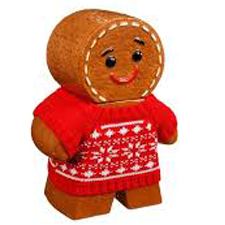 Image of Ceramic Gingerbread Man Cookie Jar