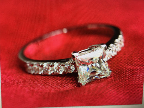 Image of Zircon crystal ring