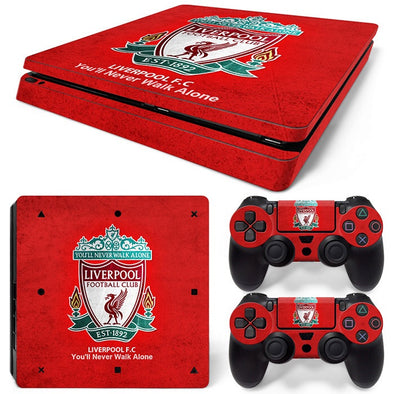 PS4 Slim Skin – Liverpool Design