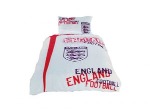 Official England single duvet set