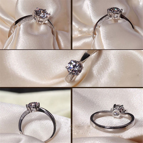 Lovely Ring – Zircon Crystal Design