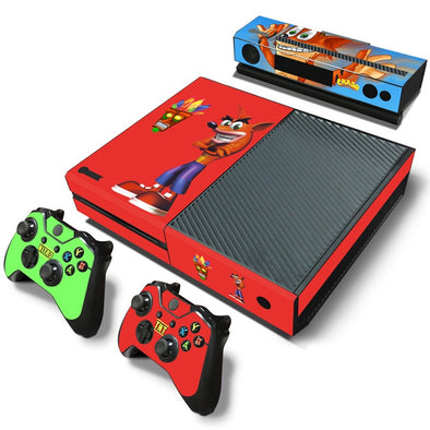 Xbox One Skin – Crash Design