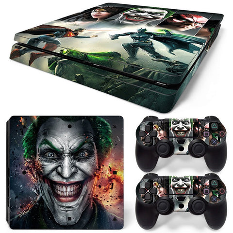 PS4 Slim Skin – Injustice Design